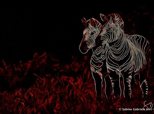 "AFRICAN NEON, 2012 Acrylic on Canvas, 30x40"""