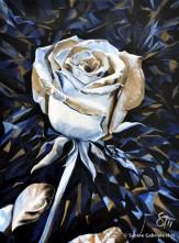 "ICY BEAUTY, 2011 Acrylic on Canvas, 40x30"""