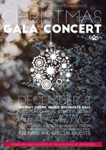Christmas Gala Concert Poster